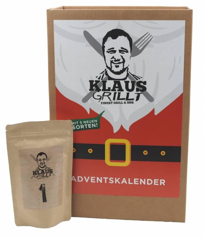 Klaus grillt - Adventskalender mit 24 Würzmischungen
