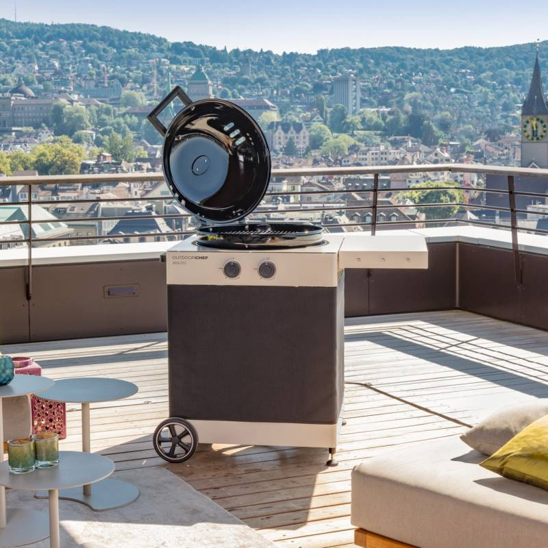 Outdoorchef Gas Kugelgrill: Arosa 570 G Tex