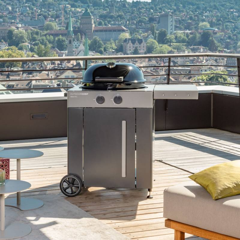 Outdoorchef Gas Kugelgrill: Arosa 570 G Steel