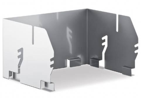 Thüros Zubehör: Windansteckblech für T2 und Thüros 1 (Grillfläche 35x35 cm)