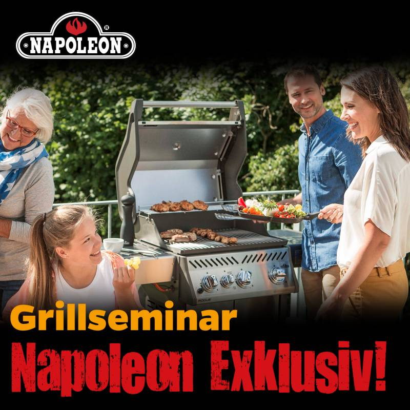 Napoleon Exklusiv! Grillkurs, Freitag, 22.05.2020, 17:00 Uhr Bad Hersfeld