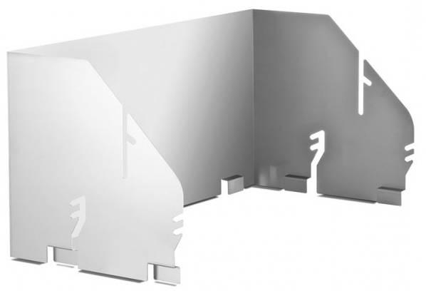 Thüros Zubehör: Windansteckblech für T4, Thüros 2, Sylt (Grillfläche 40x60 cm)