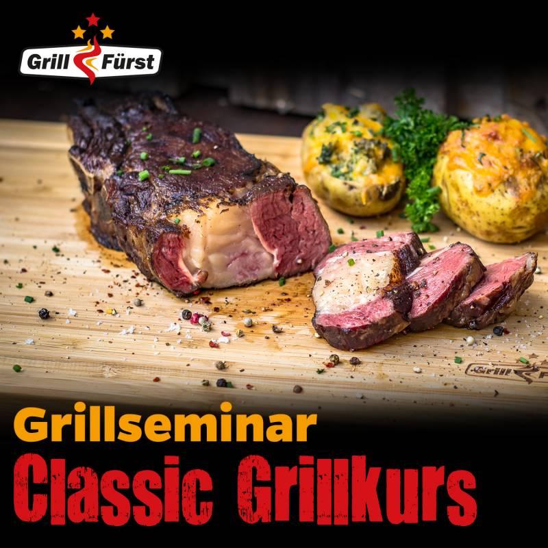 Classic Grillkurs, Samstag, 05.12.2020, 12:00 Uhr Kassel
