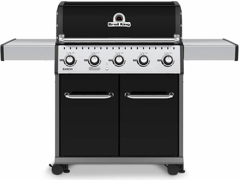 Broil King Baron 520 Black Gasgrill - Modell 2020