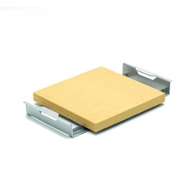 Thüros Zubehör: Pizza Einsatz / Pizzastein für T4, Thüros 2, Sylt (Grillfläche 40x60 cm)
