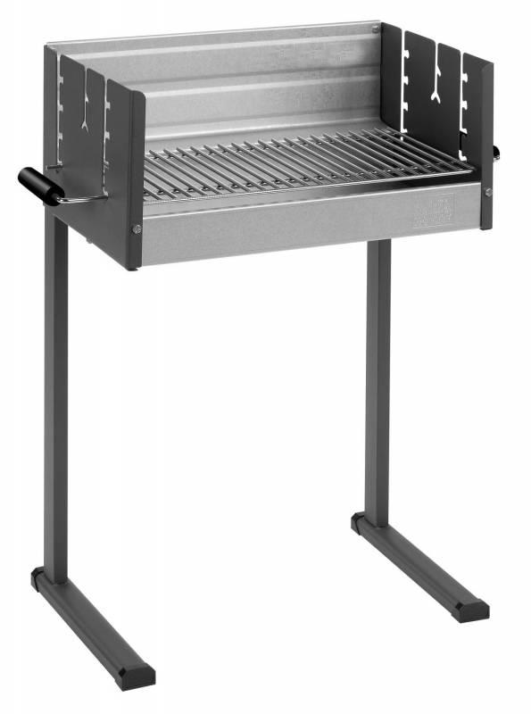 dancook 7100 Holzkohlegrill / Grillfläche 50 cm x 25 cm