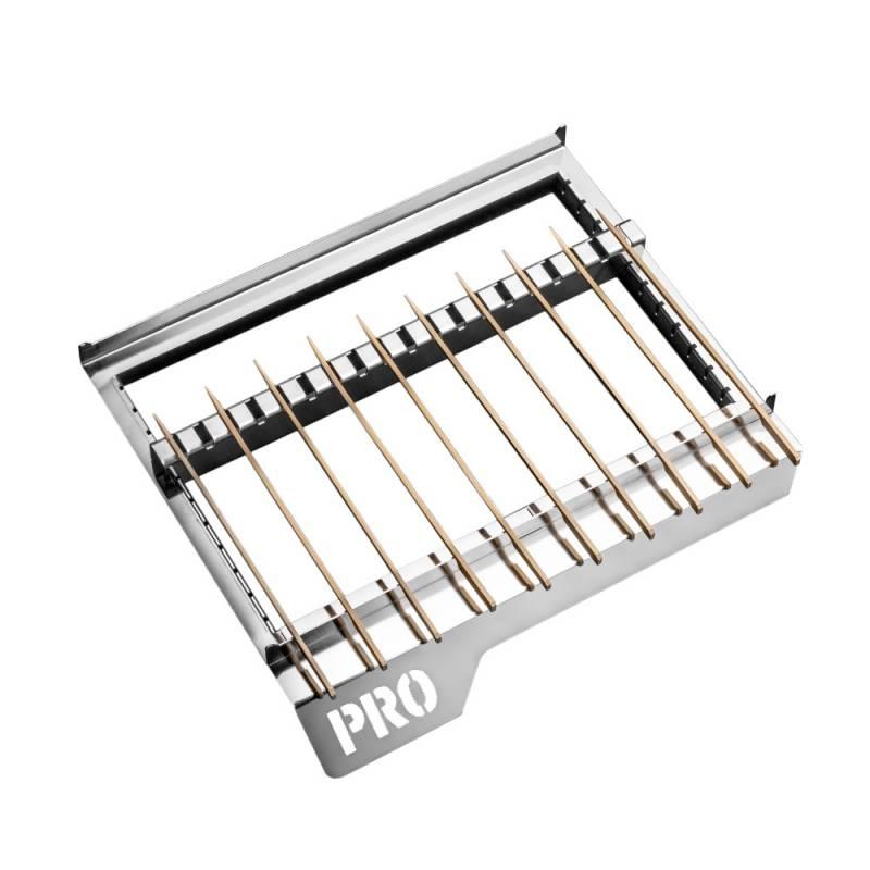 Thüros PRO1 - Teriyaki Spießaufsatz mit 150 Bambusspießen