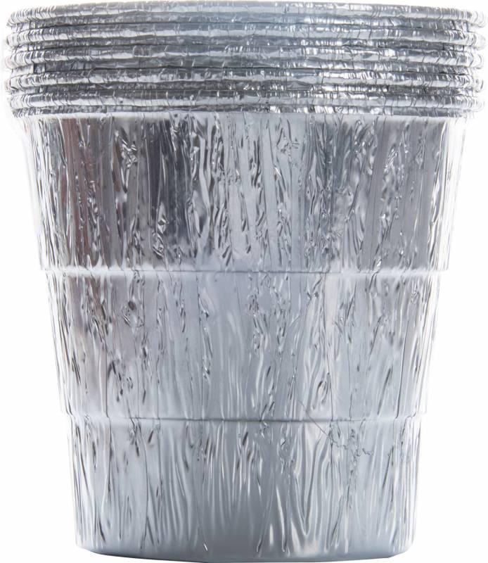 Traeger Aluminiumeinsatz für Fettauffang-Eimer - 5er Pack