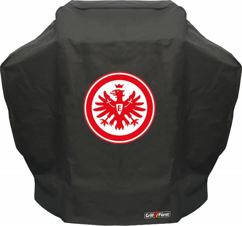 Grillfürst Abdeckhaube / Schutzhülle 126,5 x 54 x 113 cm - Eintracht Frankfurt Edition - für Grillfürst G 310