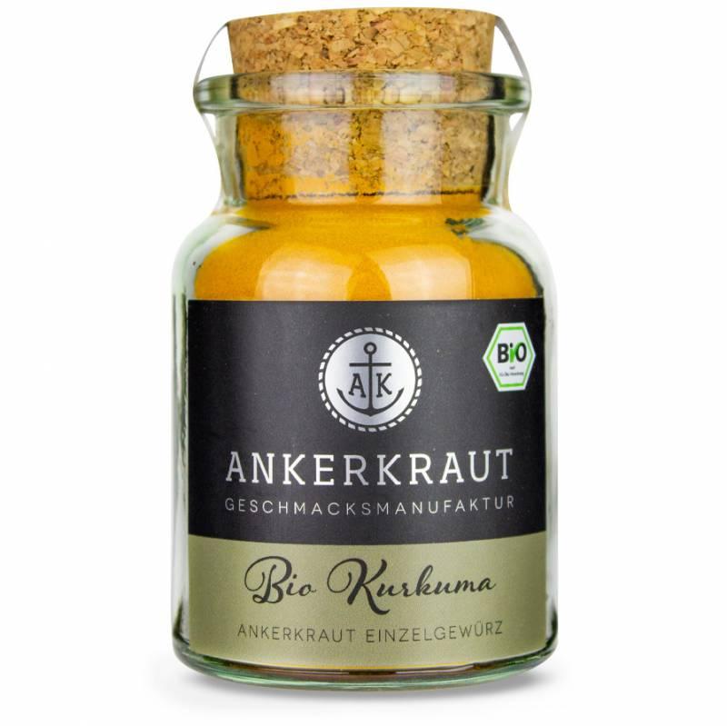 Ankerkraut BIO Kurkuma, 85 g Glas