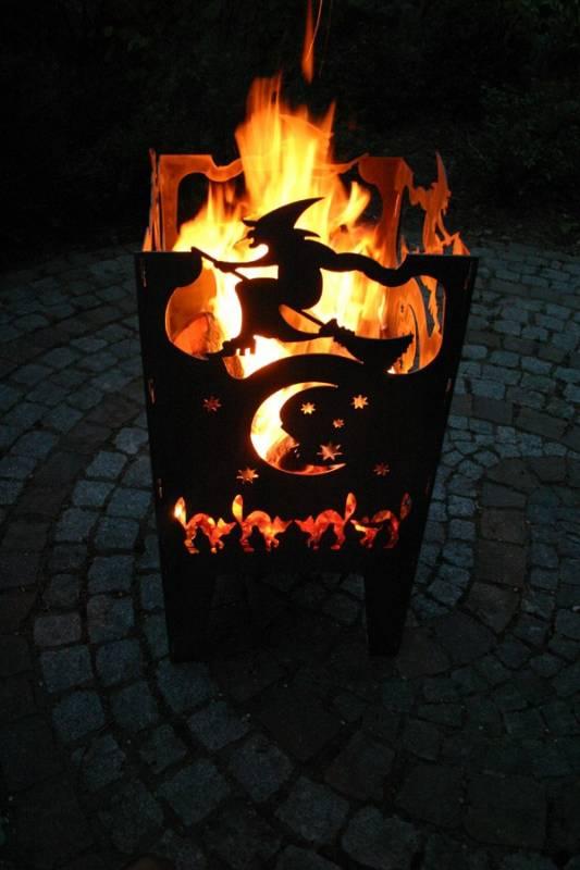 SvenskaV Feuerkorb Hexe L
