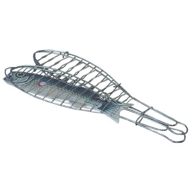 Thueros Zubehoer: Thueros Fischbraeter Stahl verchromt 2er Pack