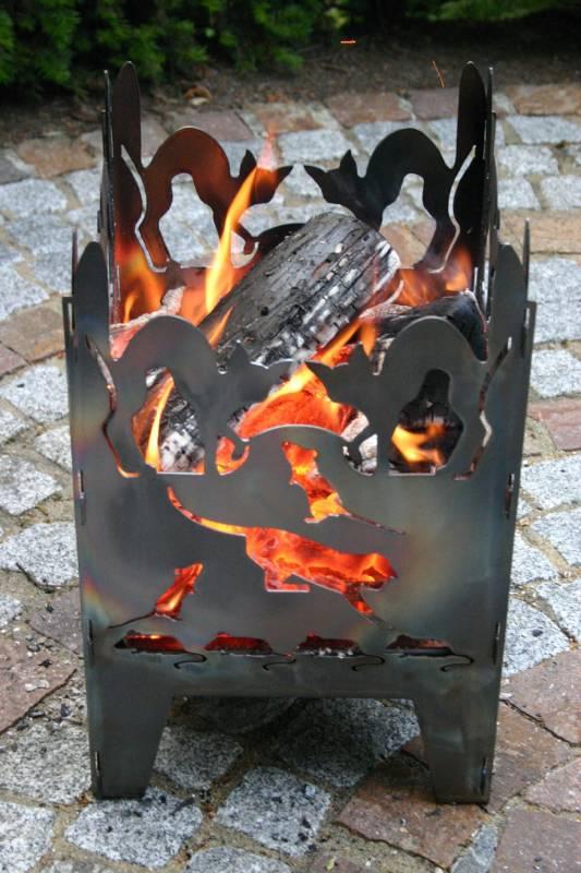 SvenskaV Feuerkorb Katze S