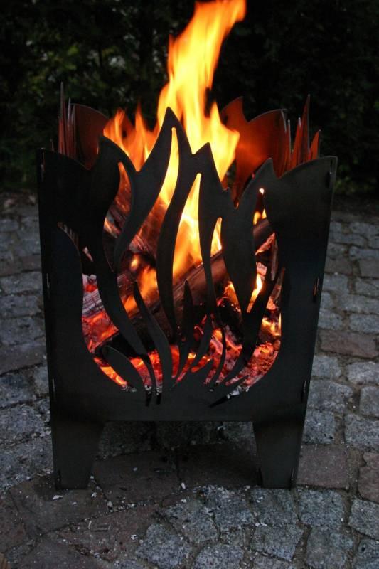 SvenskaV Feuerkorb Flamme XXL