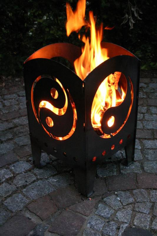 SvenskaV Feuerkorb Yin und Yang XXL