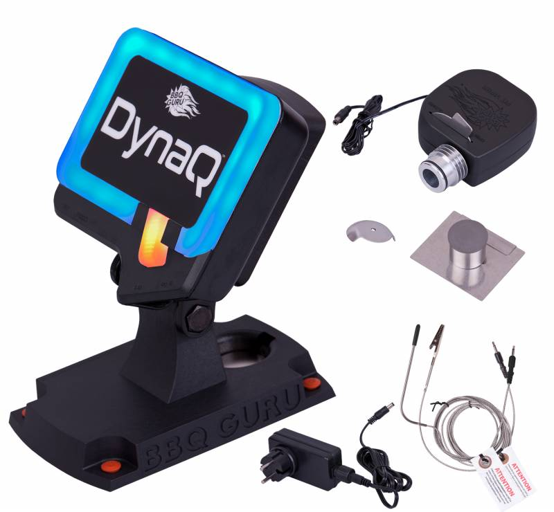 Monolith DynaQ BBQ Guru Bluetooth Controller + Komplett-Set für Classic und LeChef (inkl. Lüfter+Adapter)
