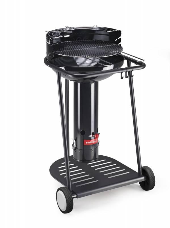 Barbecook Holzkohle Säulengrill: Barbecook Major Go Black