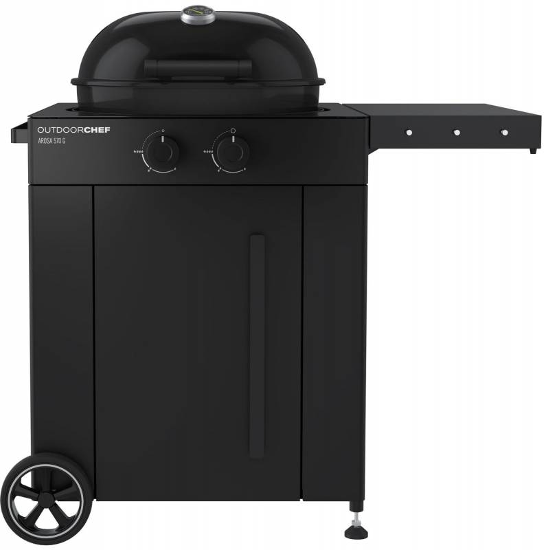 Outdoorchef Gas Kugelgrill: Arosa 570 G Limited Edition - Black