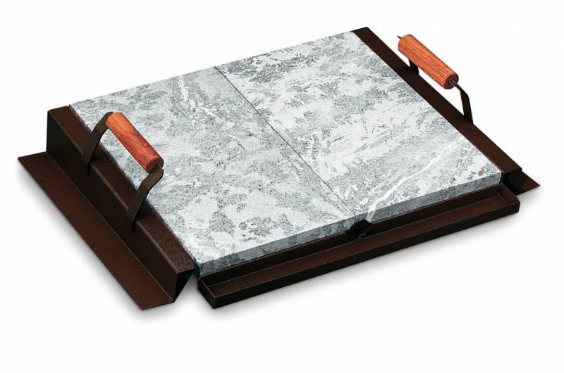 Palazzetti Zubehör: Specksteinplatte 76 x 44 cm