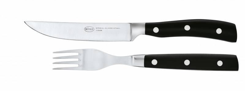 Rösle Steakbesteck Set 4-tlg