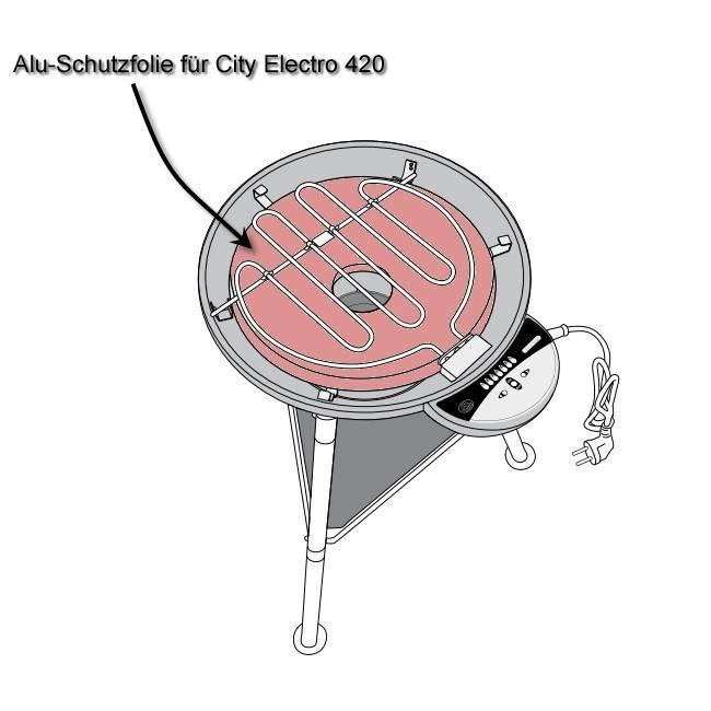 Outdoorchef Alu-Schutzfolie für Hitzereflektor