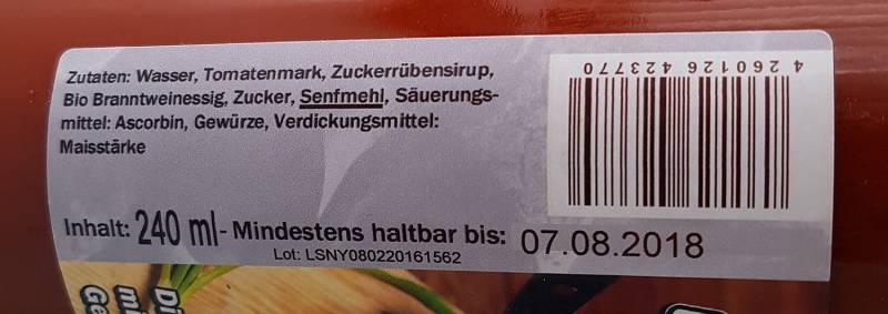 Grillfürst BBQ Sauce New York