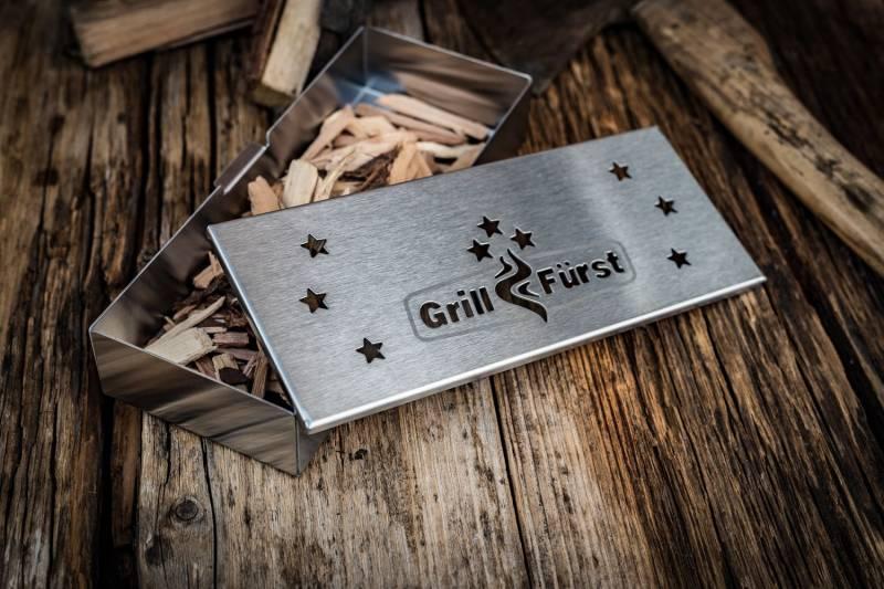 Grillfürst Räucherbox: Edelstahl Smokerbox für tolles Aroma