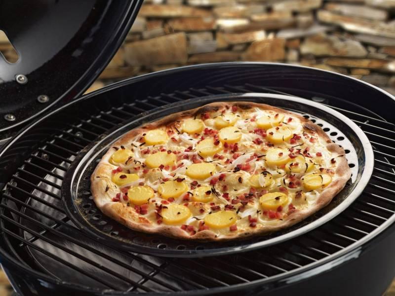 Outdoorchef Pizzablech und Backblech 40cm
