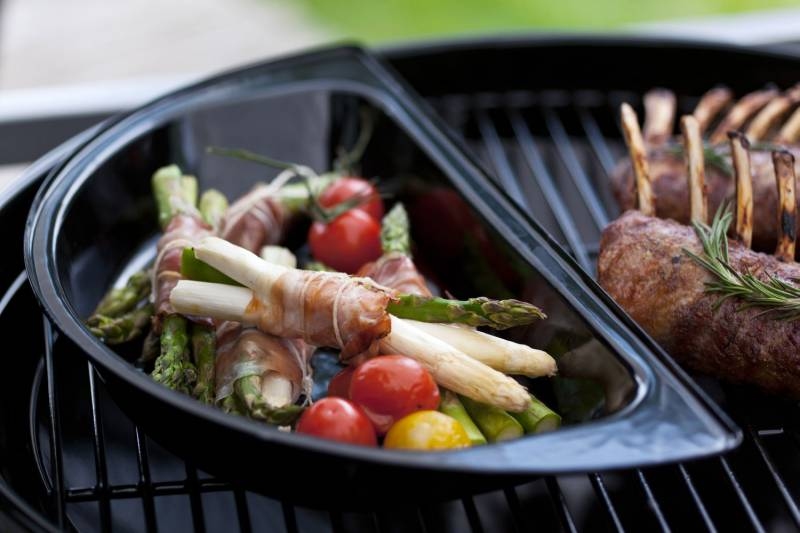 Outdoorchef Gourmet-Halbmond, 2 teilig