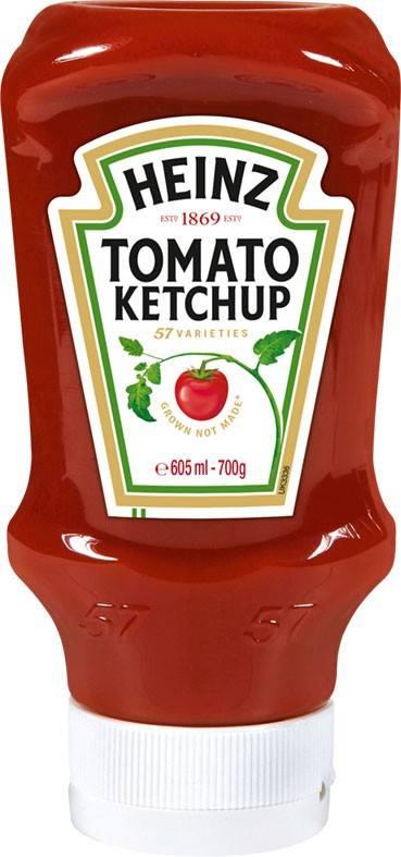 Heinz Tomato Ketchup 605ml Kopfsteher