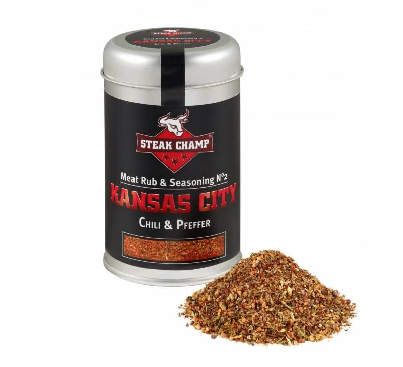 Steak Champ Gewürz-Mischung No.2 Kansas City Chili & Pfeffer