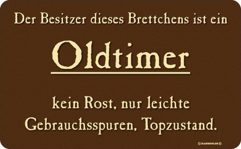 Brettchen: Besitzer Oldtimer