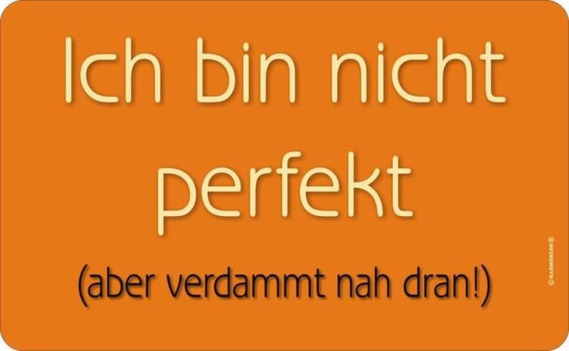 Brettchen: nicht perfekt