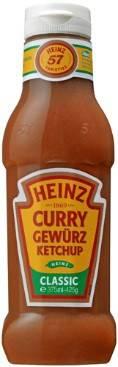 Heinz Curry Gewürz Ketchup Classic 375ml