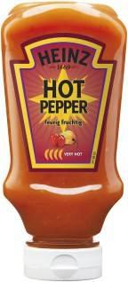Heinz Chilli Sauce Hot Pepper 220ml