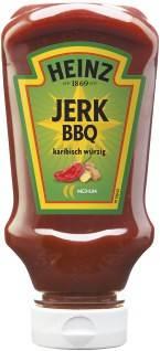 Heinz Chili Sauce Jerk BBQ 220ml