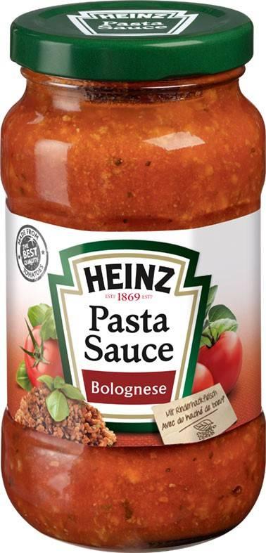 Heinz Pasta Sauce Bolognese 300g
