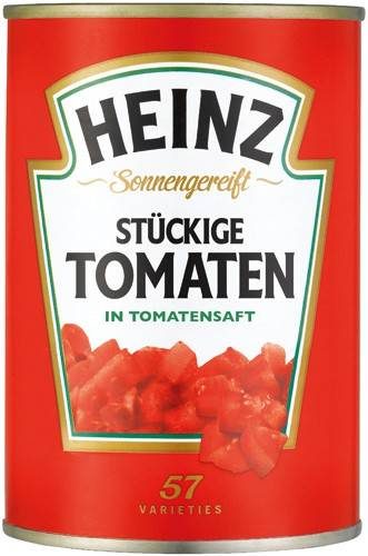 Heinz stückige Tomaten 400g