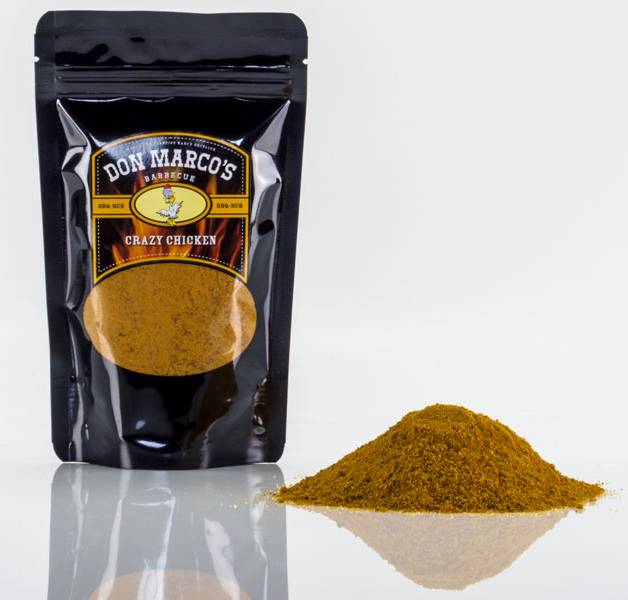 Don Marco`s Dry Rub Crazy Chicken 630g Beutel