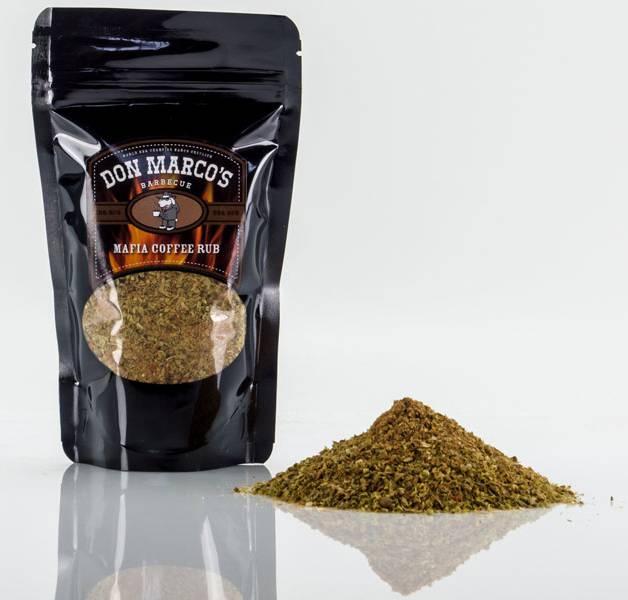 Don Marco`s Dry Rub Mafia Coffee Rub 630g
