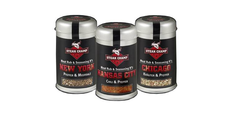 Steak Champ Gewürz 3er-Pack