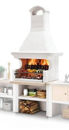Palazzetti Gartenküche Malibu 2 Modul: Grill