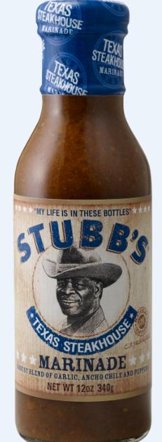 Stubbs Texas Steakhouse Marinade