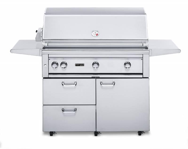 "Lynx California Gasgrill Professional 42"" Grillstation + Rotisserie + IR Pro Sear"