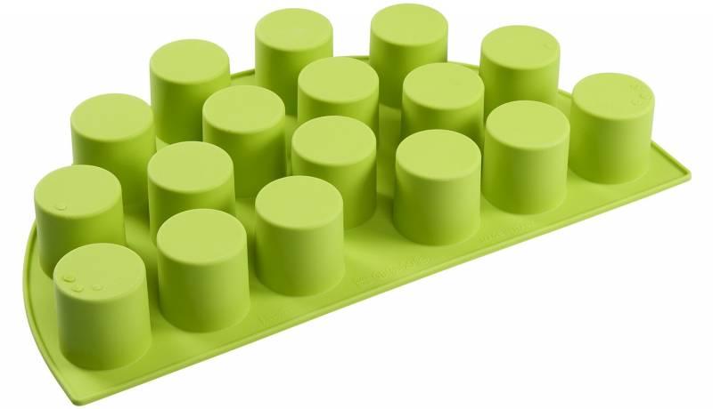 Outdoorchef Silikon Backform Halbmond Zylinder - Silikon Muffinform - Auslaufartikel