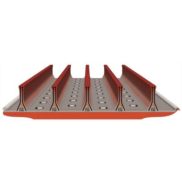 2x Grillgrate 44,13x13,34 cm (17,375 Zoll x 5,25 Zoll) Set  + 1 free GrateTool