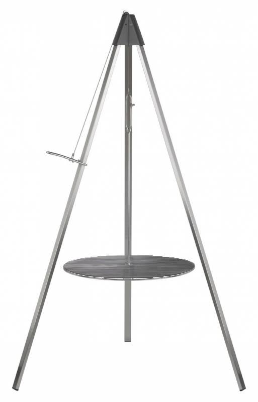 dancook Schwenkgrill: dancook 9500 / Dreibein, Aufhängung und Grillrost / Grillrostdurchmesser: Ø 54 cm