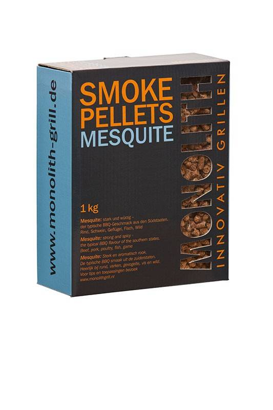 Monolith Smoke Pellets Mesquite 1kg Karton