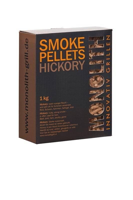 Monolith Smoke Pellets Hickory 1kg Karton