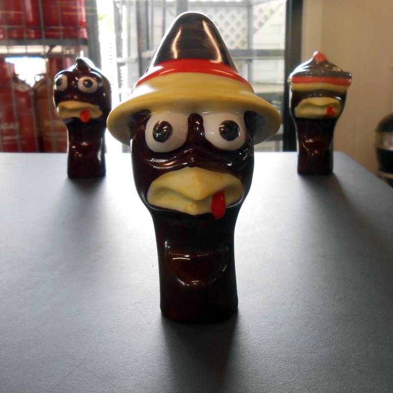 Grillfürst Chicken Head / Porzellan Hühnerkopf - Deutschland-Seppl
